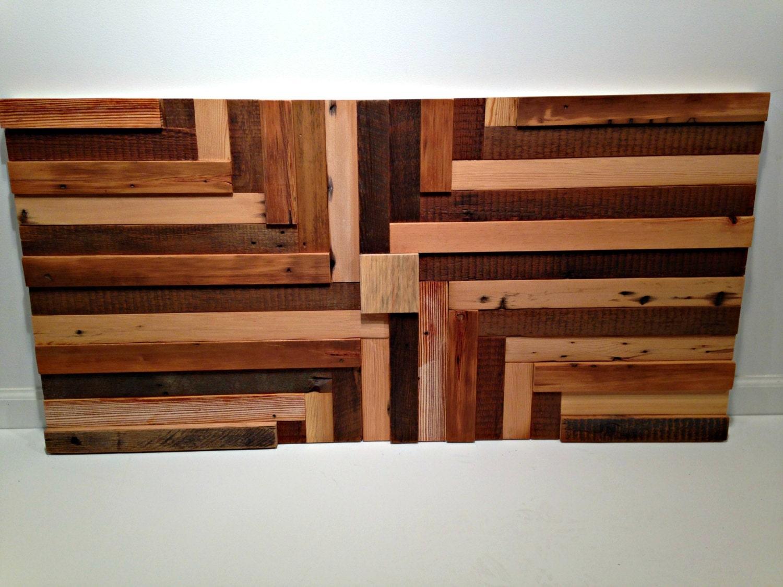 reclaimed wood wall art wood sculpture. Black Bedroom Furniture Sets. Home Design Ideas