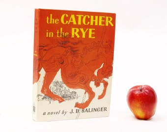 Catcher in the Rye Kindle Cover or Nook Cover- Ereader Case made from a Book