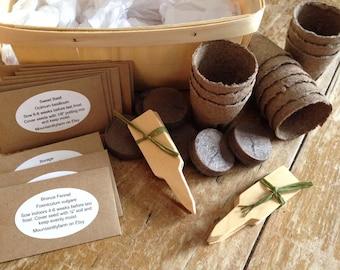 Herb Garden Kit, Herb Seed Collection, Garden Supplies, Herb Plant Kit, Great Gift for Gardener