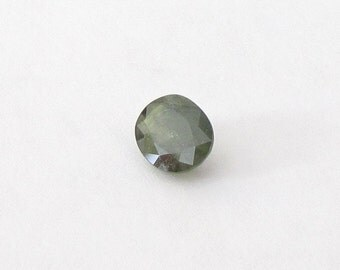 Natural Green Sapphire, Oval Cut, 2.32 carats