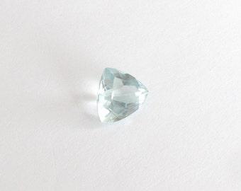 Natural Sky Blue Aquamarine, Unheated, Trillion Cut, 3.72 carats