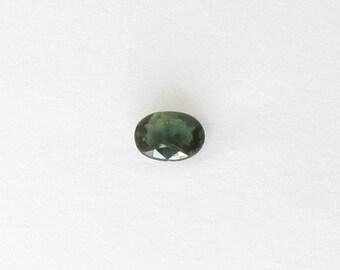 Genuine Green Sapphire, Oval Cut, 1.02 carat