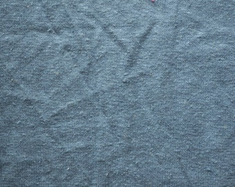 Hemp/Organic Cotton Jersey, French Blue - sold by half yard