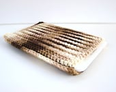 Brown Ombre Kindle Cover, Kindle Sleeve, Gadget Cozy, eReader Sleeve, Nook Cozy, Kindle Cozy, eReader Cover, Nook Sleeve, Gadget Cover