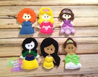 Princesses Set 2: Item # 1062GG