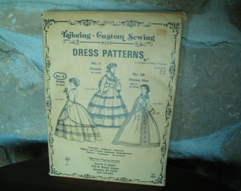 Harriet A. Engler Tailoring Custom Sewing Pattern, Uncut, Undersleeve Pattern Included, Victoria, No.9, Est 1963, Sizes 6-8. 10-12, 14-16