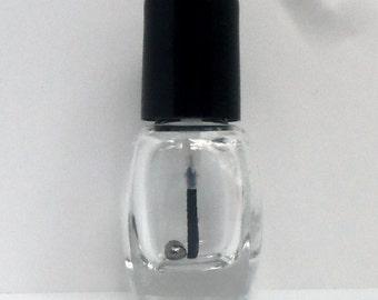 Empty MINI Glass Nail Polish Bottles(square) with mixing beads, polish bottles, empty bottles, empty polish bottles, bottles, nails