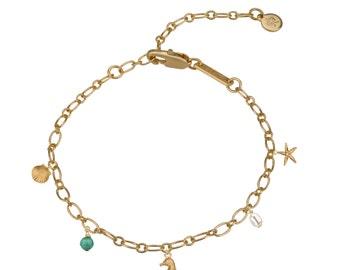 Ocean Charm Bracelet