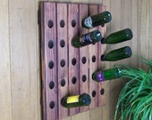 Riddling Rack Antique Style 30 Bottle Wine Rack