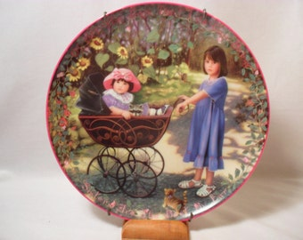 Joys of Life Collector Plate from the Kindred Moments Collection
