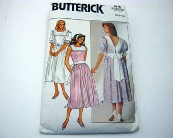 Butterick 3675 Pattern 1980's Girly Lolita Dress Short and Long 6-10 Vintage