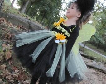 Bumble Bee costume, Bumble Bee, Bumble Bee Tutu,  Bumble Bee Tutu Dress, Tutu Costume, bee Costume