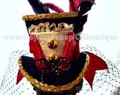Ringmaster - Ringleader Inpsired Mini Top Hat