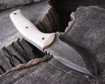 "Handmade knife FOF ""Bully"" hunting and survival blade"
