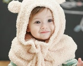 Baby Bear Hat/Scarf Combo Cowl