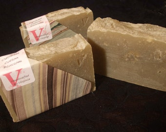 Oatmeal Soap, Cotton Blossom scent - DISCOUNTED