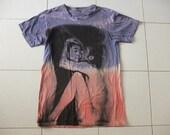 Love if want it John Yoko Bed Peace Rock T-Shirt M