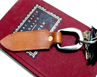 Key Chain Key Fob Leather Fob Leather Keyring.