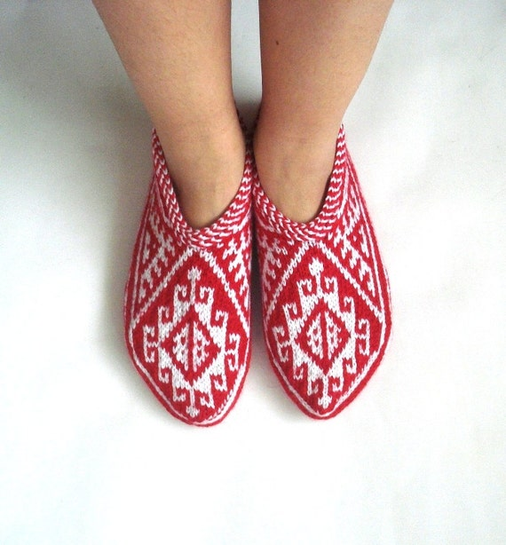 Turkish Slippers Knitting Pattern 28 Images 1981 Best Knitting 3