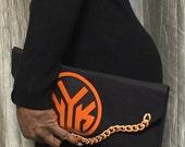 New York Knicks Logo Clutch