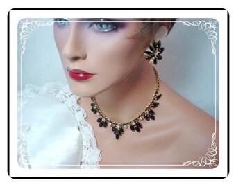 Sultry Juliana Demi  - Sultry Black and Aurora Borealis Lush  D&E Demi-721a-062208075