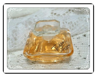 Miniature Perfume Bottle -  Vintage Tresor by Lancome Vanity Collectible PF1810a-032313000