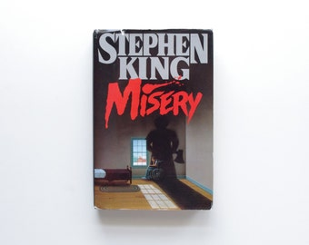 Misery by Stephen King - Hardcover, 1987