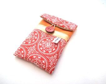 phone case orange,iphone sleeve orange rosace