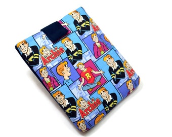 Tablet Case, iPad Case, Archie, iPad Mini, Kindle Fire, 7, 8, 9, 10 inch Tablet Cover, Sleeve, Cozy, FOAM Padding, Holiday Gift