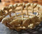 Handmade Medium Bread or Fruit Pottery Bowl