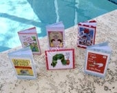 Book Theme Food Tents/ Book food labels //birthday party //wedding shower //baby shower //bridal shower // wedding