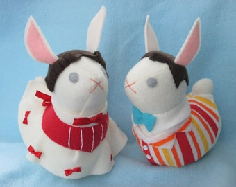 OTP Any Bunny Pair - Custom Made