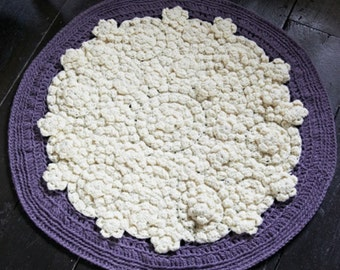 Super Circular Rug - Instant Download PDF Crochet Pattern