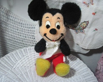 Vintage Stuffed Mickey Mouse 12 Inches Tall  :)
