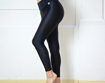 Leggings black high waist for Bikram yoga