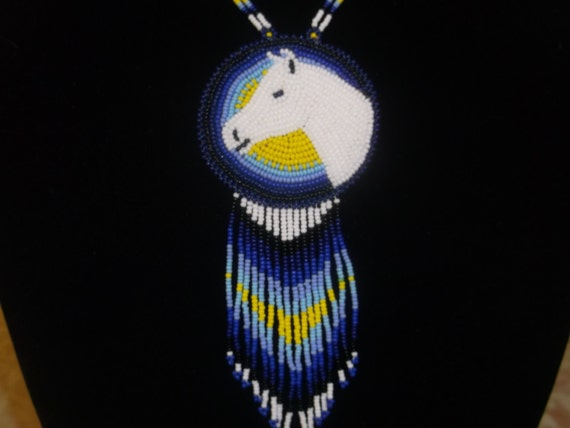 horse necklace native americannative