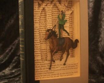 Dream Ride Book Sculpture