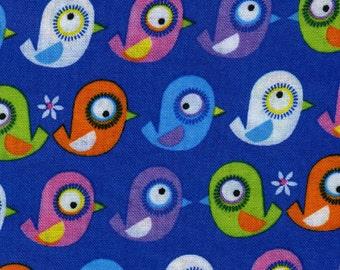 Timeless Treasures fabric BIRDS Organic Cotton