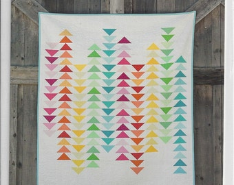 SPECTRUM--modern quilt pattern by FRESH LEMONS