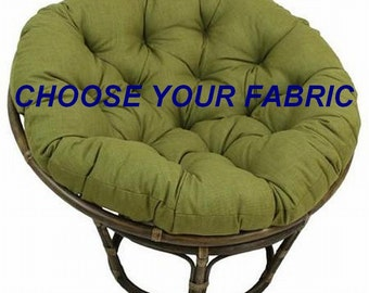 Papasan Cushion, Custom Made Cushion, Squareasan Cushion, Chair Cushion, Outdoor Papasan Cushion, Papasan Cushion Cover, Round Cushion
