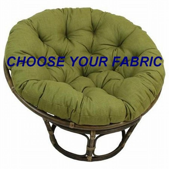... Chair Cushion, Outdoor Papasan Cushion, Papasan Cushion Cover, Round