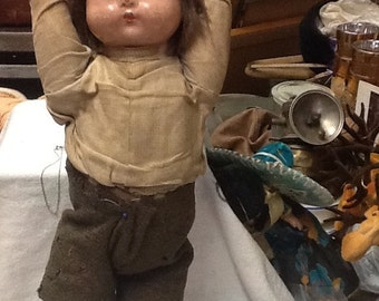 Early 1900's Composition Doll