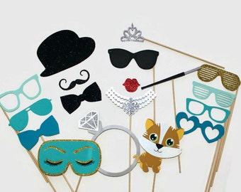 Wedding Photo Booth Props Complete Collection of Fun Props