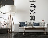 Zinedine Zidane Zizou Wall Decal