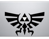 Zelda Triforce Macbook Decal Sticker