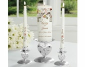 Church candles, Wedding candles, Personalized wedding candles, Unity Candles Personalized, Bride & Groom Candles, Wedding Ceremony Candles