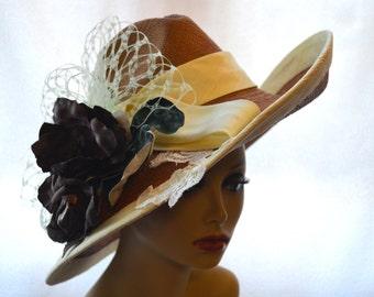Derby Hat / Panama Straw Hat / Sun Hat / Western Hat
