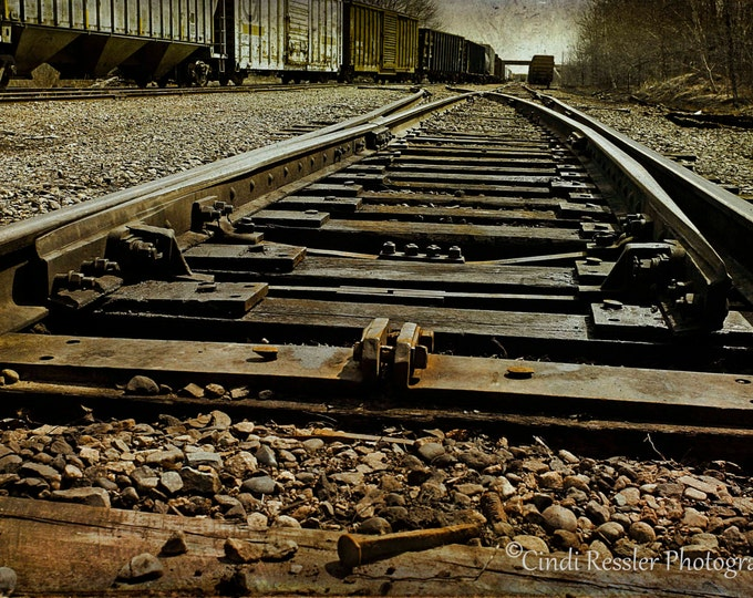 Railroad Nail,  Railroad Photography, Photography, Fine Art Photography, , Trains, Landscape Photography