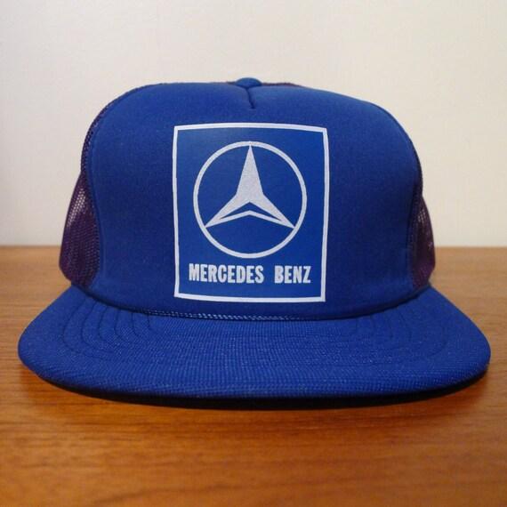 Deadstock mercedes benz snapback hat 1980 39 s vintage for Mercedes benz snapback