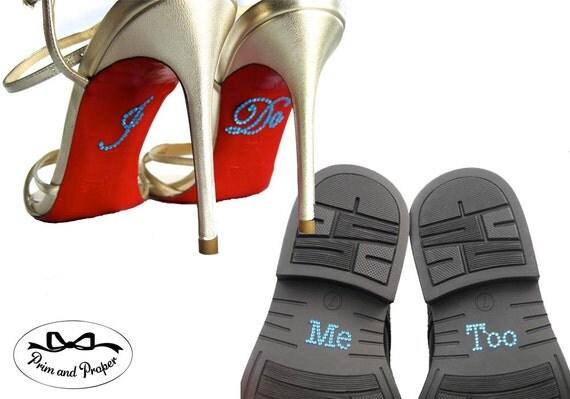 I Do Me Too Shoe Stickers, I Do Stickers, I Do Shoe Sticker, Something Blue, I Do Shoe Decal, I Do Stickers for Shoes, Bride Gift, Weddings